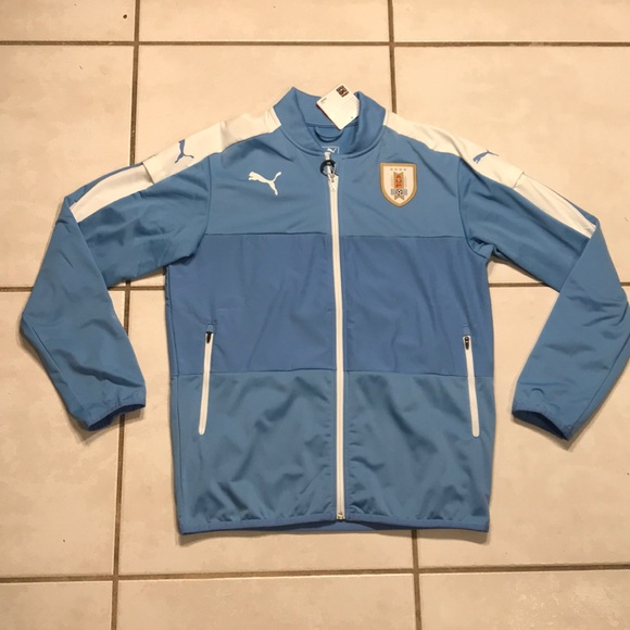 NWT PUMA Uruguay National Team Stadium Jacket